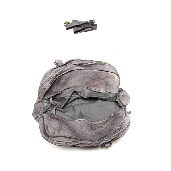 Kožená kabelka Anna Luchini  6 Grigio