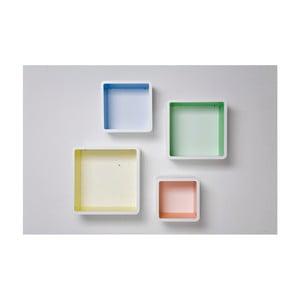 Set 4 rafturi Kare Design Square