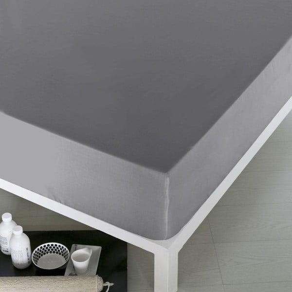 Prostěradlo Home Gray, 160x200 cm