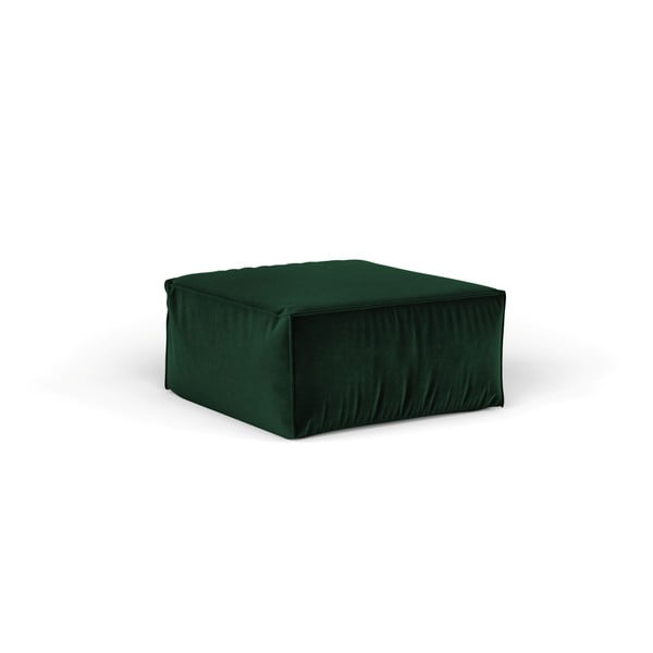 Zelený puf Cosmopolitan Design Florida, 65×65 cm