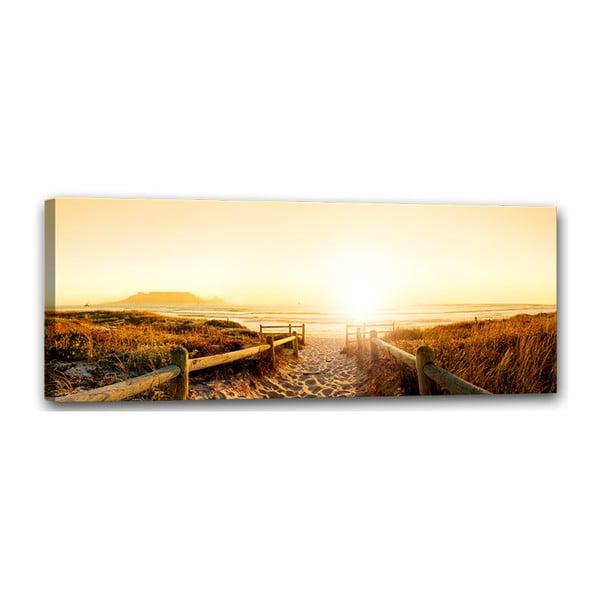 Canvas Harmony Beach fali kép, 60 x 150 cm - Styler