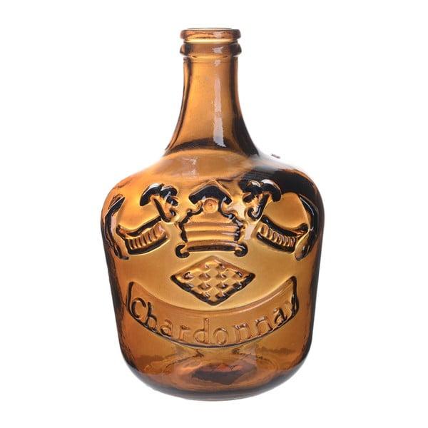 Skleněná váza Chardonnay, 30 cm, oranžová