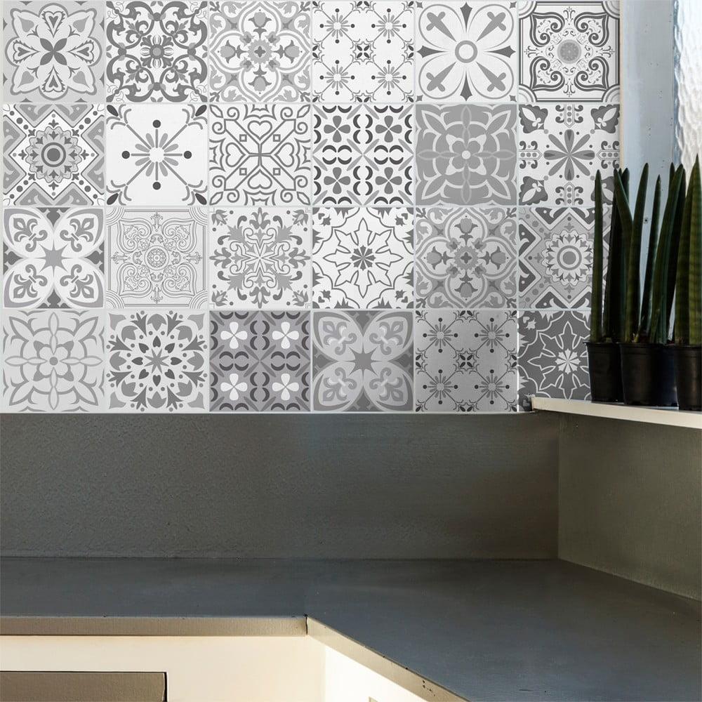 set 24 autocolante ambiance gythio 40 x 60 cm bonami. Black Bedroom Furniture Sets. Home Design Ideas