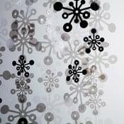 Bubble závěs, 100x100 cm, kouřová černá