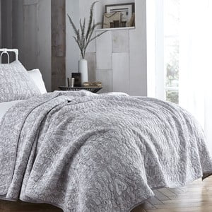 Šedý přehoz přes postel Bianca Simplicity, 200x200cm