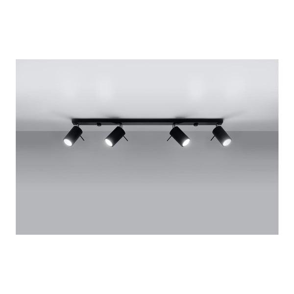 Černé stropní svítidlo Nice Lamps Etna 4L