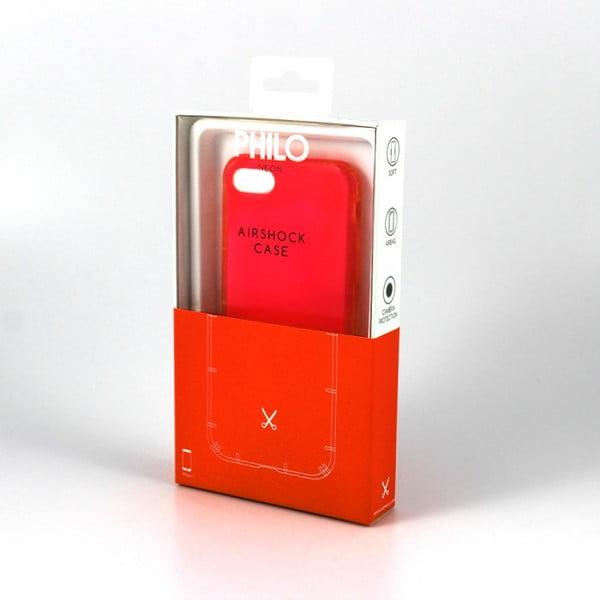 Husă de protecție pentru iPhone 7 a 8 cu protecție Air Shock Philo Smart, roșu