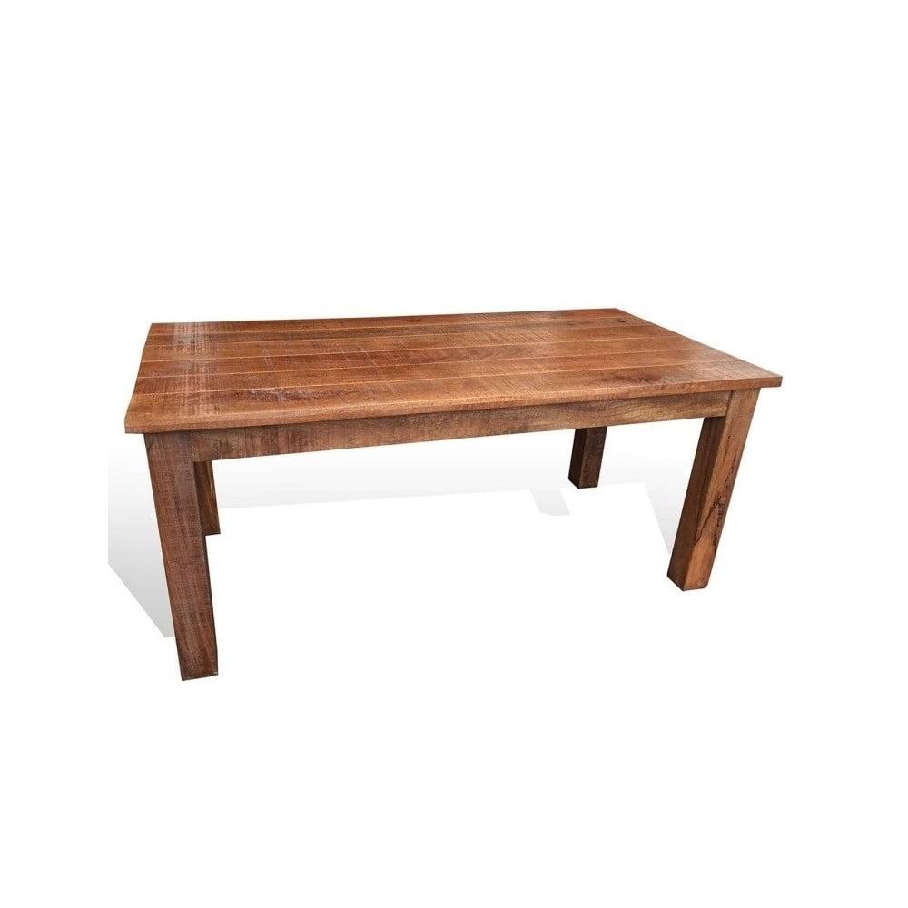 Jídelní stůl z mangového masivu Sob,140x80cm thumbnail