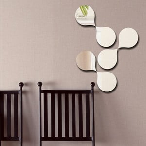 Dekorativní zrcadlo Abstract Drops