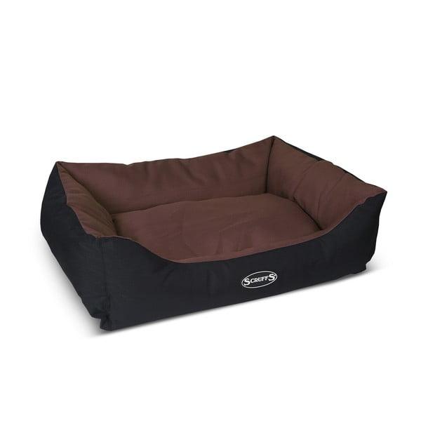 Psí pelíšek Expedition Bed L 75x60 cm, čokoládový