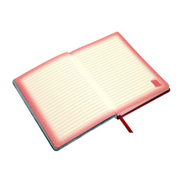 Poznámkový blok v tvrdých deskách Santoro London My Story, 192 stran