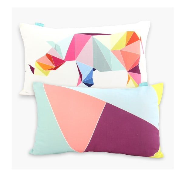 Povlak na polštář Origami, 50x30 cm