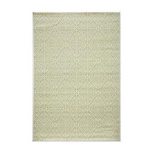 Zelený koberec Nourison Baja Rallo, 229 x 160 cm