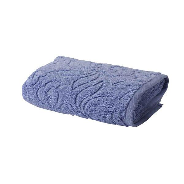 Modrý ručník z bavlny Bella Maison Rosa, 50x90cm