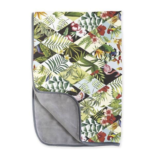 Obojstranná deka z mikrovlákna Surdic Botanic, 130 x 170 cm