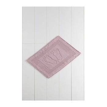Covor baie Carrisma Mento 70 x 50 cm roz