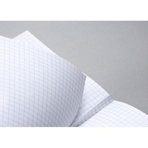 Zápisník FANTASTICPAPER XL Black/Cool Grey, čistý