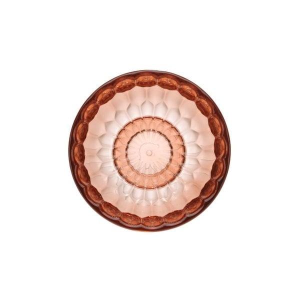 Růžový háček Kartell Jellies, ⌀9,5cm
