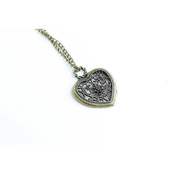 Náhrdelník Bronze Heart