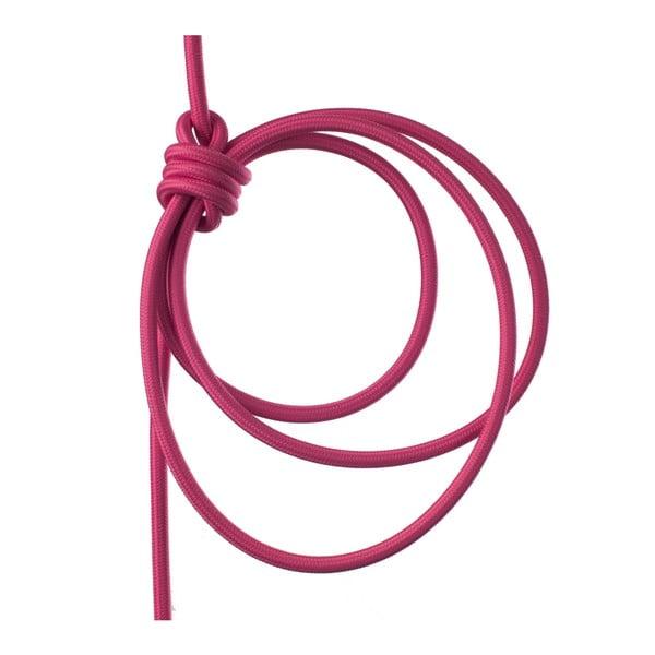 Růžové svítidlo od Jakuba Velínského, 3 m