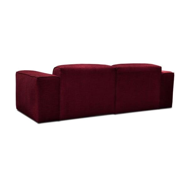 Červená trojmístná pohovka Cosmopolitan Design Phoenix