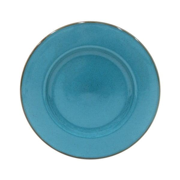 Farfurie pentru servit din ceramică Casafina Sardegna,⌀34cm, albastru