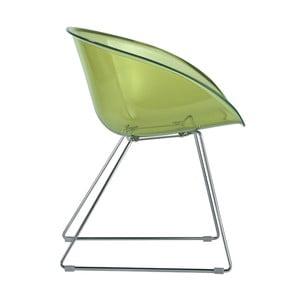 Zelená židle Pedrali Gliss 921