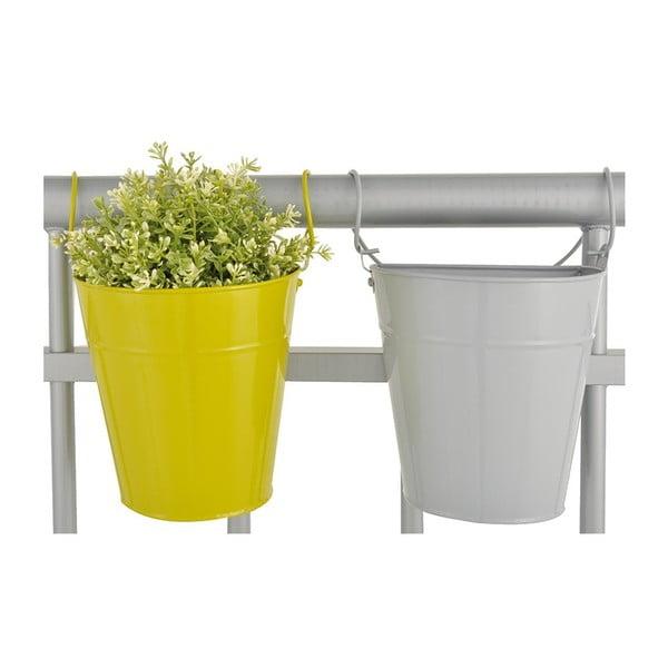 Sada 2 závěsných květináčů na balkón Esschert Design Magic, šířka 19cm