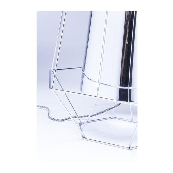 Stolní lampa ve stříbrné barvě Kare Design Ware