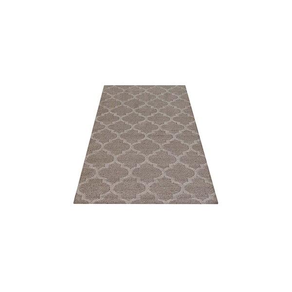 Vlněný koberec Kilim no. 809, 120x180 cm, přírodní