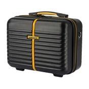 Černý kosmetický kufřík Travel World, 28 x 35 cm