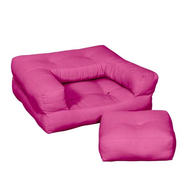 Dětské křesílko Karup Baby Cube Pink