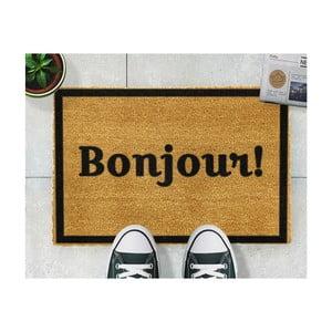 Covor intrare Artsy Doormats Bonjour, 40 x 60 cm