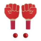 Set 2 palete ping pong și minge Le Studio Fist Shape Rackets