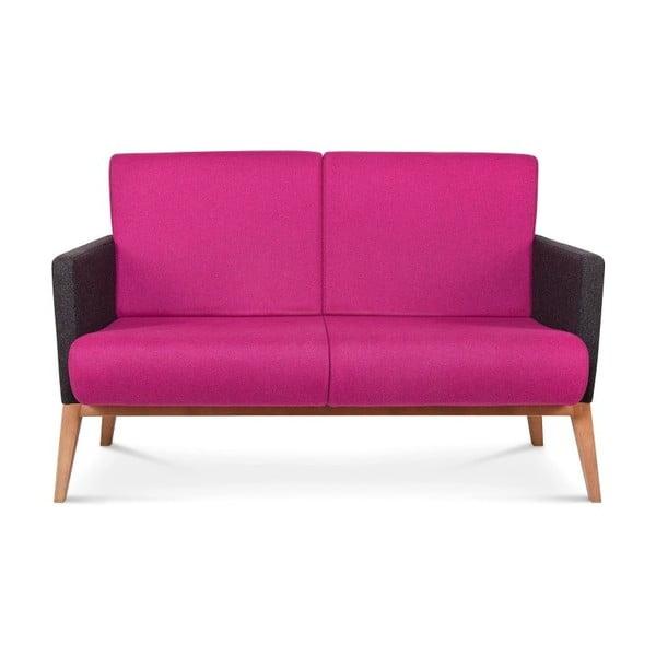 Růžová sedačka Fameg Arne