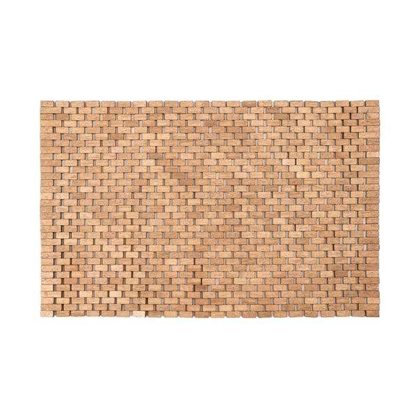 Koupelnová předložka z kaučukovníkového dřeva Premier Housewares