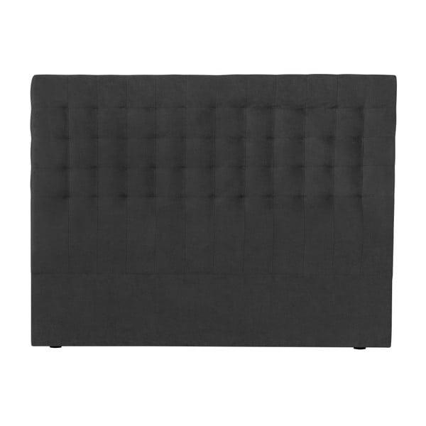 Tmavě šedé čelo postele Windsor & Co Sofas Nova, 200 x 120 cm