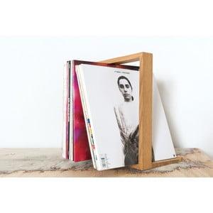 Stojan na vinylové desky, 26x35 cm