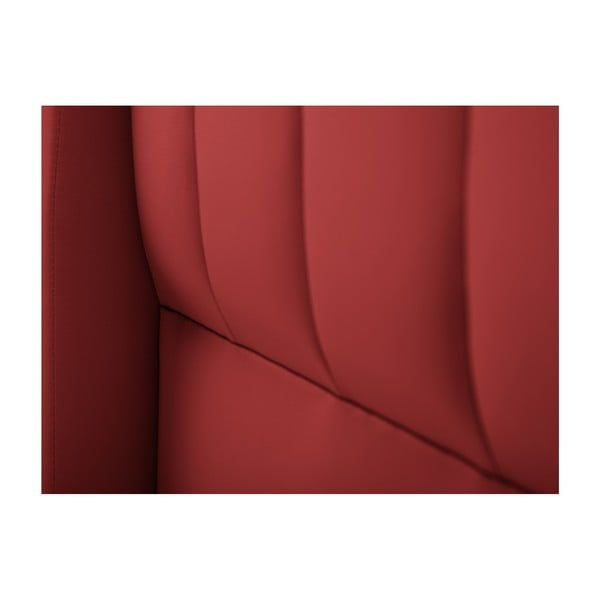 Červené čelo postele Cosmopolitan design Dallas, 160x120cm