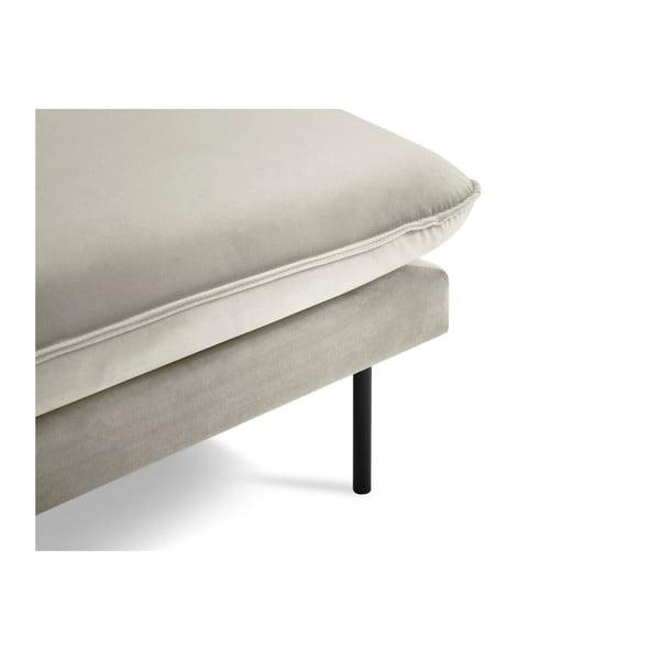 Béžová lenoška s područkou na pravé straně Cosmopolitan Design Vienna