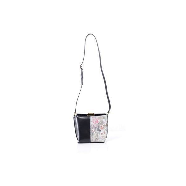 Kožená kabelka Tracy, černá