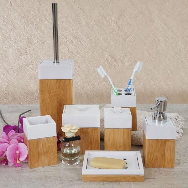 Koupelnový set Milan Bamboo (7 ks)