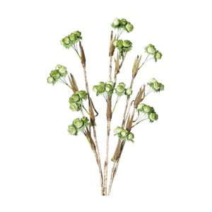 Umělá květina se zelenými kvítky  Ixia Branch