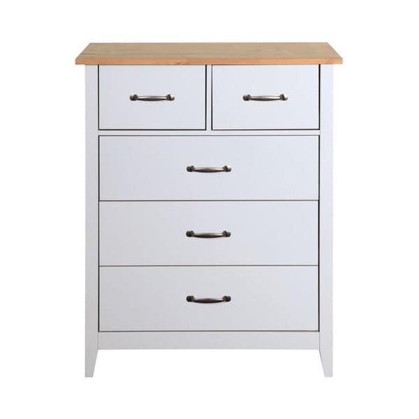 Comodă Steens Norfolk, 94 x 77 cm, alb