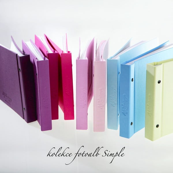 Fotoalbum Simple, světle zelené