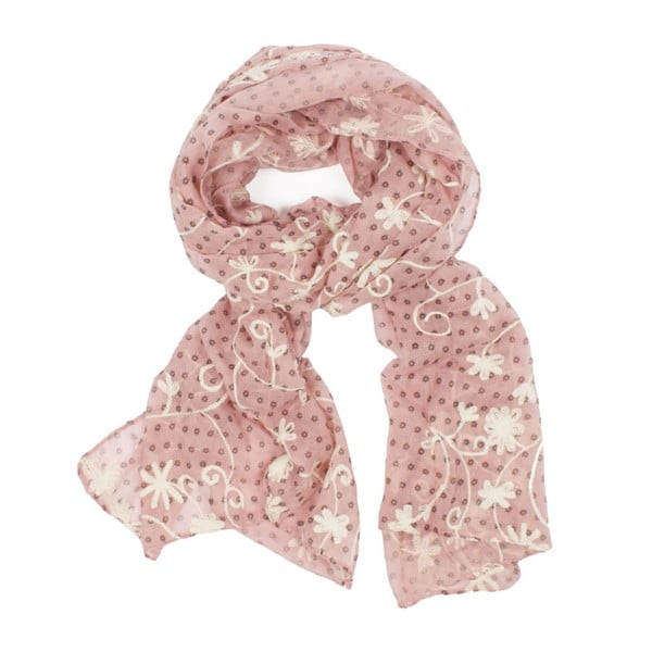 Šátek Blossom Scarf Blush