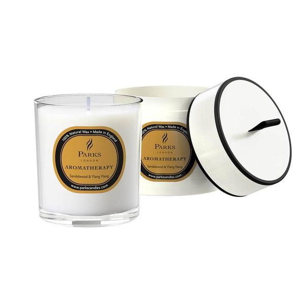 Sviečka s vôňou santalového dreva Parks Candles London, 45hodín horenia