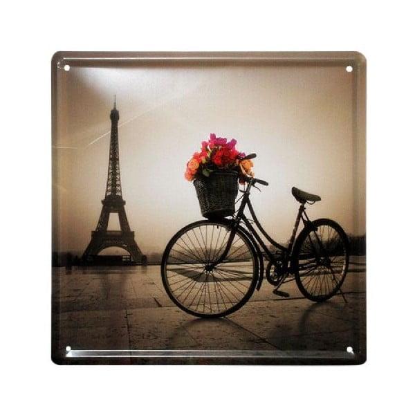 Cedule Paris Vibe, 20x20 cm