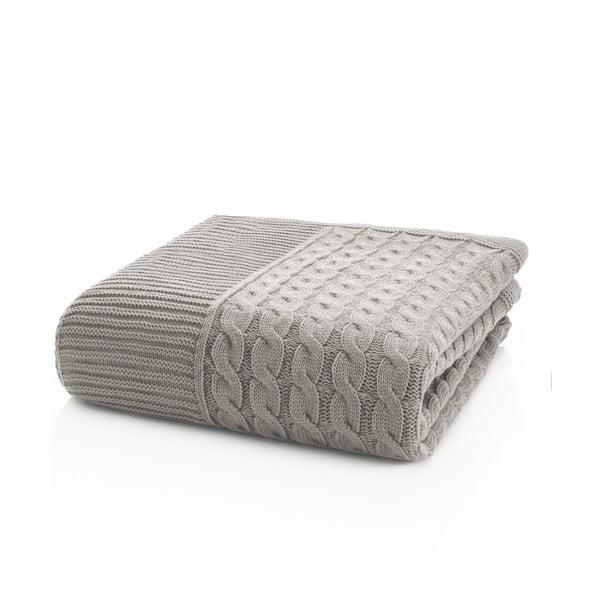 Pletená deka Marvel Stone, 130x170 cm