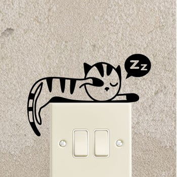 Autocolant Ambiance Sleeping Kitten